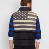 Vesta Ralph Lauren Quilted Flag Vest masura S M