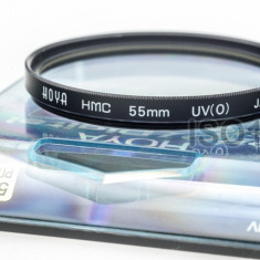 Filtru 55mm Hoya HMC UV Japan - Filtru foto, 50-60 mm