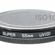 Set capace aluminiu mama tata pe 55mm pentru protectie filtre - Filtru foto, 50-60 mm, Altul