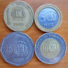 REPUBLICA DOMINICANA 4 MONEDE