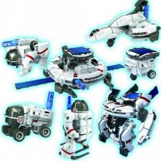SET 7IN1 ROBOTI SPATIALI CARE SE CONSTRUIESC SI FUNCTIONEAZA CU ENERGIE SOLARA. - Roboti de jucarie, Alte materiale, Unisex