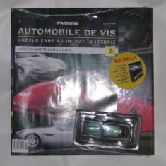 Automobile de vis, Nr. 2, Aston Martin DB 4 Coupe - Macheta auto, 1:43