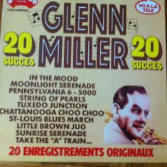 Glenn miller 20 succes disc vinyl muzica swing jazz lp made in france - Muzica Jazz, VINIL