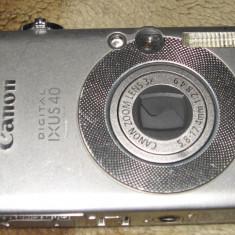 Camera Foto CANON IXUS 40 PC1101 DEFECT - Aparat Foto compact Canon