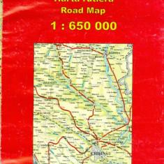 Moldova - harta rutiera - 26394 - Harta Europei