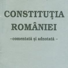 Prof. univ. dr. Victor Duculescu - Constitutia romaniei - 26047 - Carte Legislatie