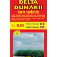 Delta Dunarii - harta turistica si rutiera - 8759 - Harta Europei
