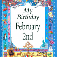 My Birthday February 2nd - 22872 - Carte astrologie