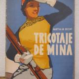 TRICOTAJE DE MANA -MARTHA M. RECHT