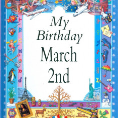 My Birthday March 2nd - 22866 - Carte astrologie