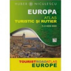 Europa - Atlas Turistic Si Rutier - 7882
