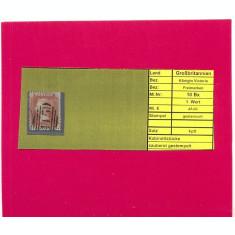 ST=123=ANGLIA 1855=Regina Victoria ,Mi10-Bx,timbru stampilat
