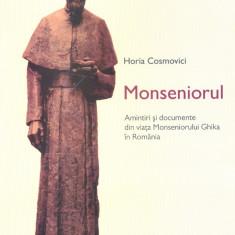 Horia Cosmovici - Monseniorul - 25437 - Certificare