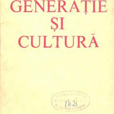 Constantin Schifirnet - Generatie si cultura - 21986 - Certificare