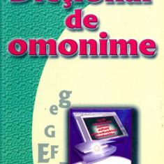 Prof. Sergiu Anton Berceanu - Dictionar de omonime - 15085 - DEX