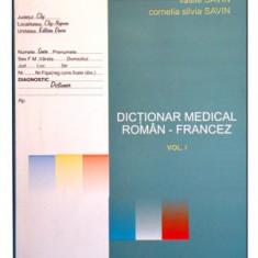 Vasile Savin - Dictionar medical Roman - Francez vol. I - 2691