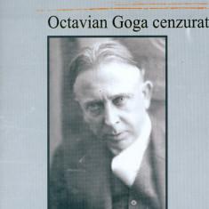 Aurel Rau - Octavian Goga cenzurat - 3373