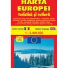 Harta Europei - Turistica si rutiera - 8797
