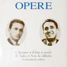 Anton Holban - Opere vol. I - II - Romane - Teatru - 6229, Anul publicarii: 2005