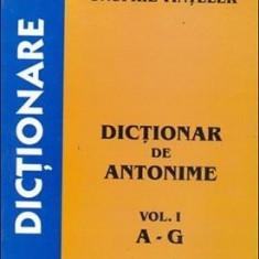 Onufrie Vinteler - Dictionar de antonime, vol. I, A - G - 2655 - DEX