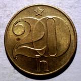 7.185 CEHOSLOVACIA 20 HALERU 1985 XF, Europa