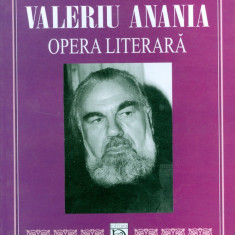 Nicoleta Palimaru - Valeriu Anania. Opera literara. - 17585 - Carte Sociologie