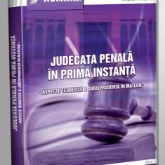 Theodor Mrejeru - Judecata penala in prima instanta. Aspecte teoretice si jurisprudenta in materie - 10071 - Carte Legislatie