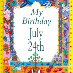 My Birthday July 24th - 22802 - Carte astrologie