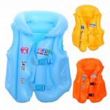 Vesta de salvare gonflabila pentru copii cu trei camere