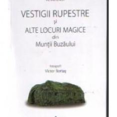 Victor B Victor - Vestigii rupestre si alte locuri magice din Muntii Buzaului - 9539 - Carte ezoterism
