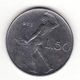 Italia 50 lire 1973, Europa