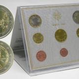 2006 Vatican Euro Set emisiune oficiala BENEDETTO XVI FDC - UNC, Europa