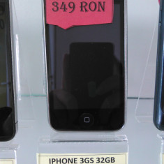 iPhone 3Gs Apple 32 Gb/Codat in org (LEF), Negru, Orange