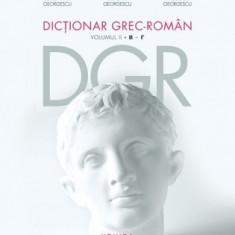 Constantin Georgescu - Dictionar grec-roman. Volumul II. - 19767 - Atlas