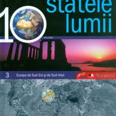 Statele Lumii. Europa de Sud-Est si de Sud-Vest - 5615 - Atlas