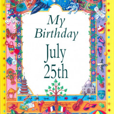 My Birthday July 25th - 22800 - Carte astrologie