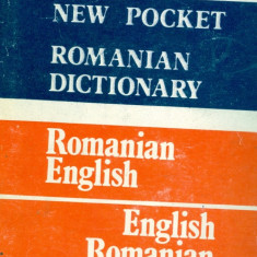 Irina Panovf - New Pocket Romanian Dictionary. Romanian-English. English-Romanian. - 15125 - DEX