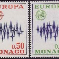 Monaco 1972 - cat.nr.883-4 neuzat,perfecta stare