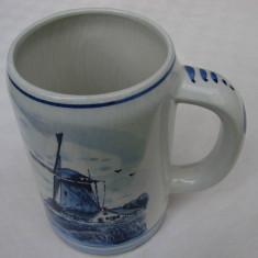 Halba din portelan olandez Delft Blue (2)