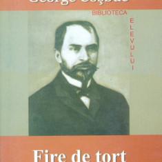 George Cosbuc - Fire de tort - 2988 - Roman, Anul publicarii: 2007