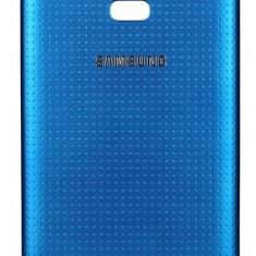 Carcasa capac spate Albastru Samsung Galaxy S5, Alt model telefon Samsung, Auriu, Alt material