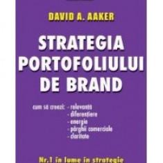 David Aaker - Strategia portofoliului de brand - 8262 - Carte Economie Politica