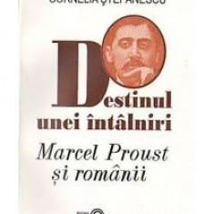 Cornelia Stefanescu - Destinul unei intalniri. Marcel Proust si romanii - 12611 - Carte Monografie