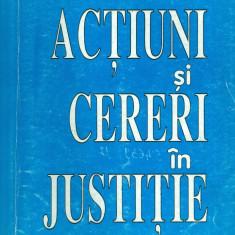 Ion Guresoae - Actiuni si cereri in justitie - vol.1 - 28452 - Carte Legislatie
