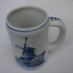 Halba din portelan olandez Delft Blue (3)
