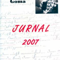 Paul Goma - Jurnal 2007 - 25220 - Carte Monografie