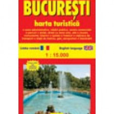 Bucuresti. Harta turistica - 8745 - Harta Europei
