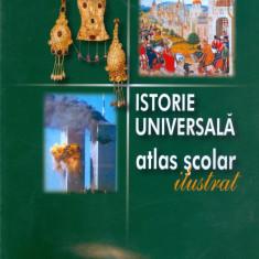 Minodora Perovici - Istorie universala. Atlas scolar ilustrat. - 13401