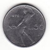 Italia 50 lire 1976, Europa
