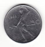 Italia 50 lire 1965, Europa